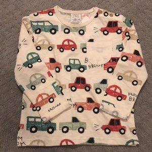 Zara Boys Long Sleeve T-shirt